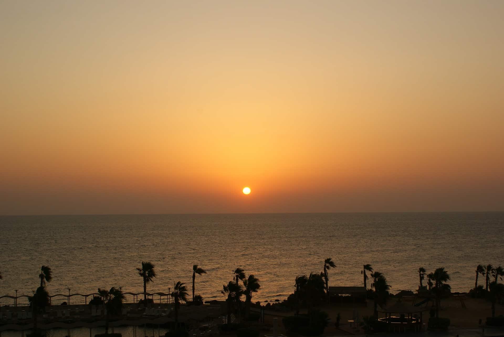 Sledujte z lehátka krásné západy slunce