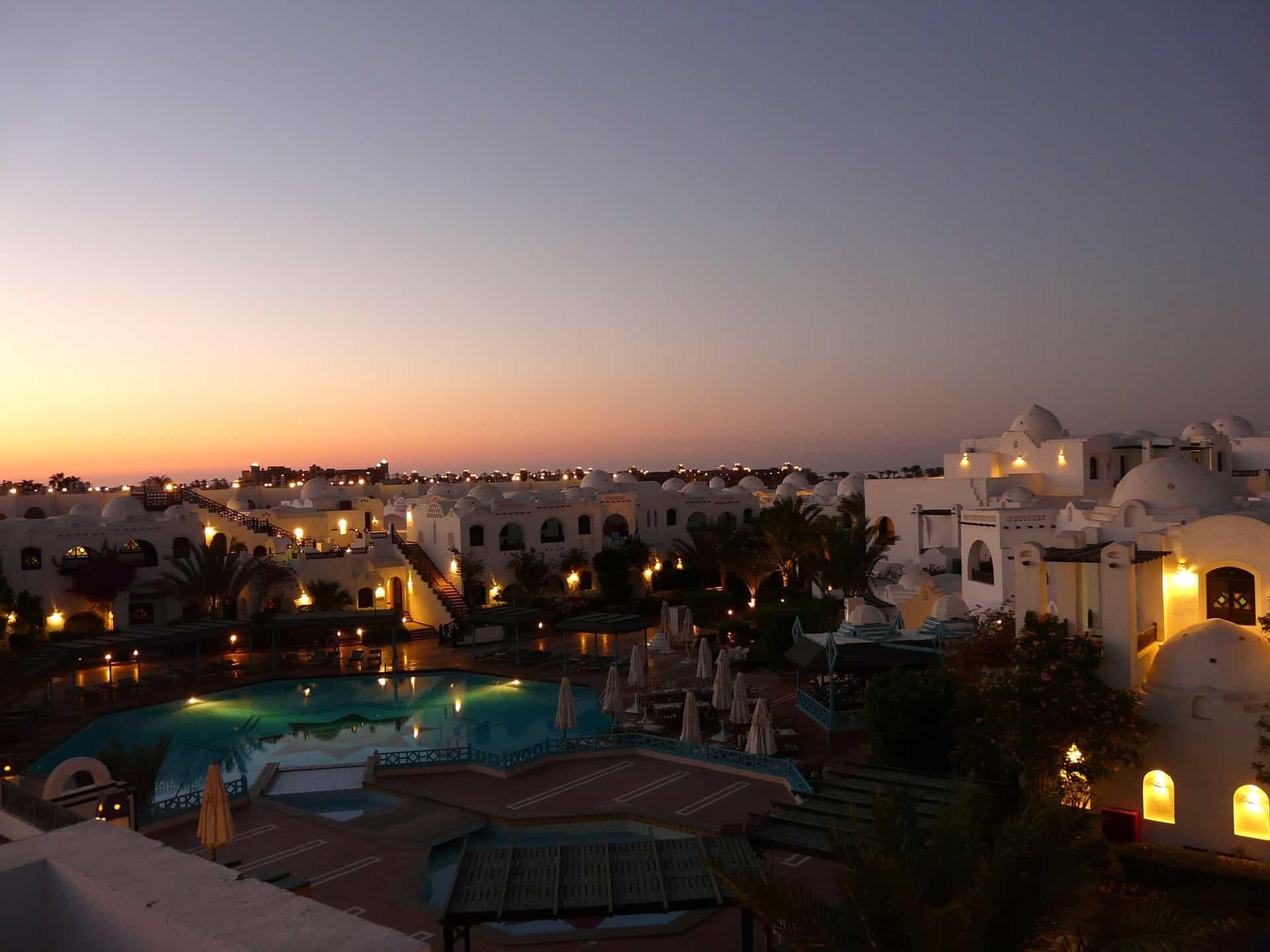 Hurghada večer