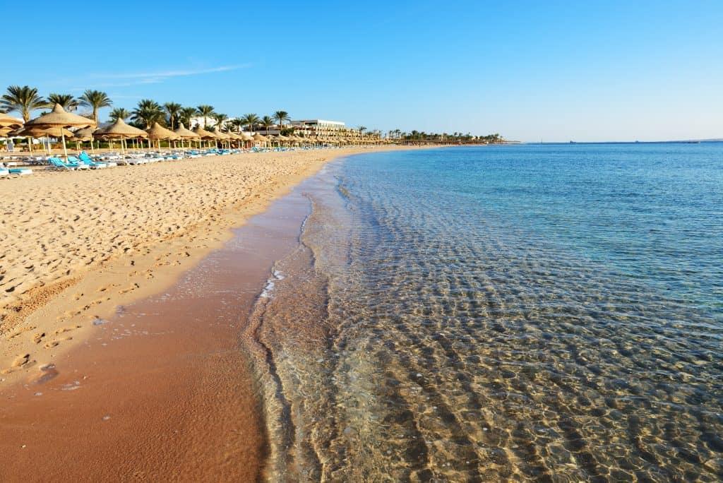 Sharm el Sheikh pláž